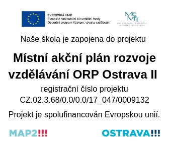 Místní akční plán rozvoje vzdělávání ORP Ostrava II