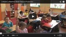 Krátká video ukázka vyučování 1. třídy na naší škole