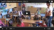 Krátká video ukázka vyučování 2. třídy na naší škole