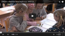 Krátká video ukázka vyučování 4. třídy na naší škole