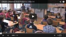 Krátká video ukázka vyučování 3. třídy na naší škole
