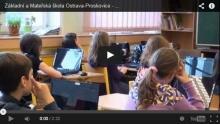 Krátká video ukázka vyučování 5. třídy na naší škole