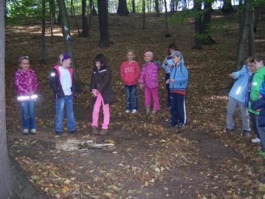 Náhled ke článku 1.ročník v lese