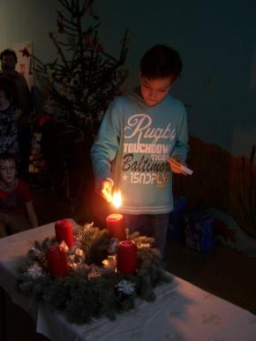Náhled ke článku Zapálení poslední adventní svíčky