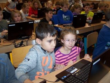 Náhled ke článku Spolupráce žáků 4. a 5. ročníku v hodině ICT