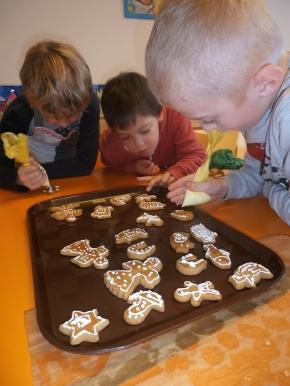 Náhled ke článku Vánoční pečení ve 3. ročníku